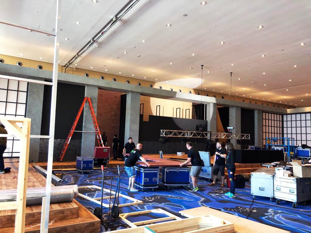 Set-up Hotel W