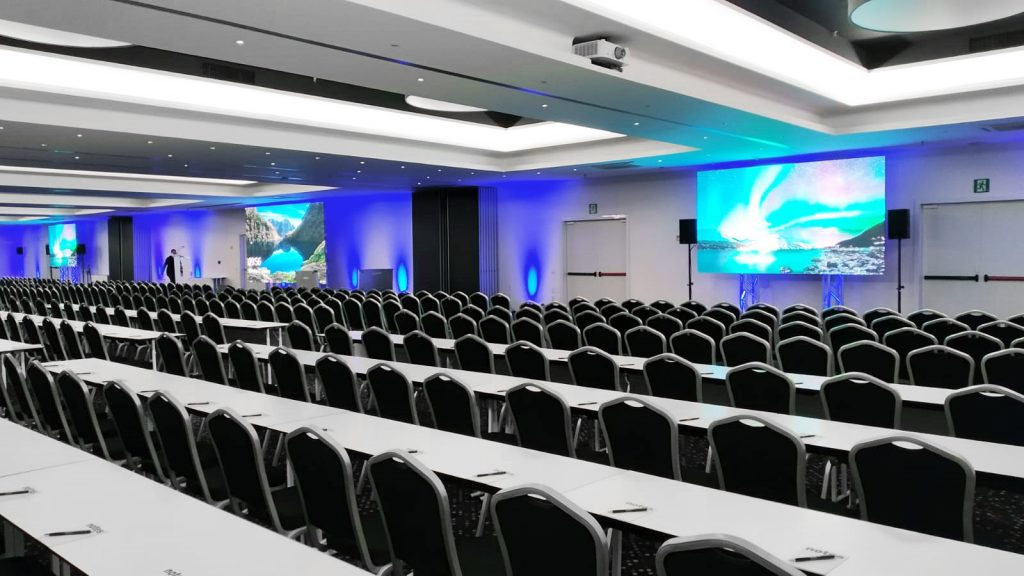 Technical verification of the plenary room for ACM FAT 2020