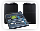 Equipos de sonido tecnorent alquiler audiovisuales for Mesa yamaha autoamplificada