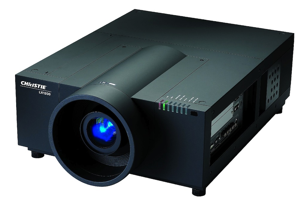 Christie LX1200 projectors