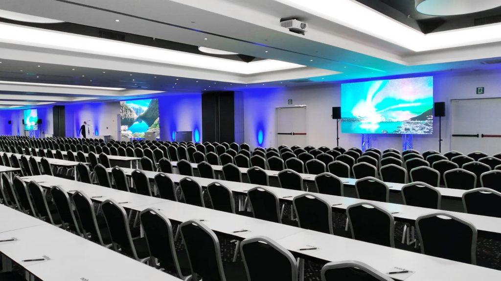 Comprobación técnica de la sala plenaria para ACM FAT 2020