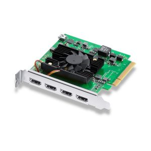Capturadora Blackmagic con 4 inputs HDMi 4k